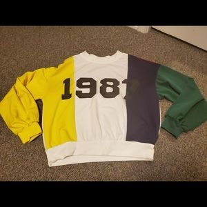 "Shein ""1987"" sweater"